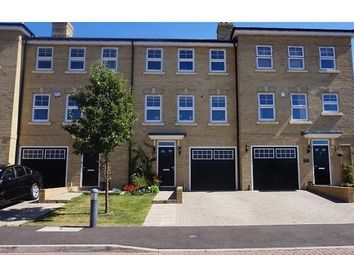 Thumbnail 4 bed town house to rent in Foxglove Close, Chertsey