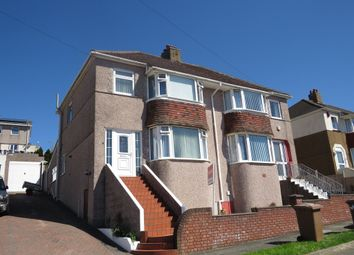 Thumbnail 3 bedroom semi-detached house for sale in Darwin Crescent, Laira, Plymouth