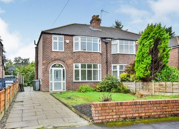 Thumbnail 3 bed semi-detached house for sale in Derwent Drive, Sale, Greater Manchester