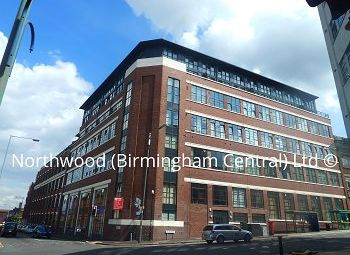 Thumbnail 1 bed flat to rent in Abacus Building, Warwick Street, Birmingham