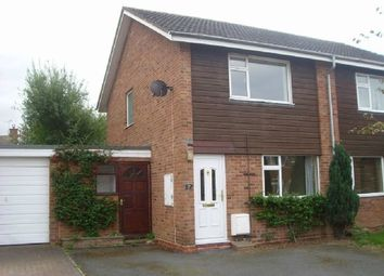 Thumbnail 2 bed semi-detached house to rent in Barneby Avenue, Bartestree, Hereford