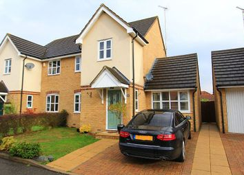 Thumbnail 4 bed semi-detached house for sale in Carswell Gardens, Wickford, Essex
