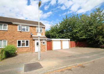 Thumbnail 3 bed semi-detached house for sale in Meadowbank, Hitchin, Hertfordshire