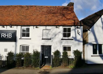 Thumbnail 2 bed cottage to rent in High Street, Roydon, Essex