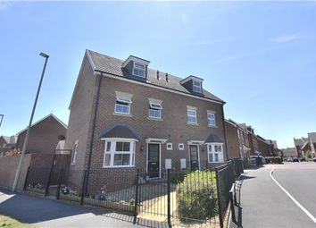 Thumbnail 4 bedroom semi-detached house for sale in Brize Avenue Kingsway, Quedgeley, Gloucester