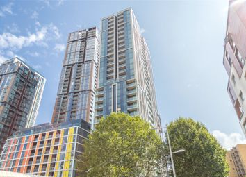 Thumbnail 2 bed flat for sale in Maine Tower, Harbour Central, London
