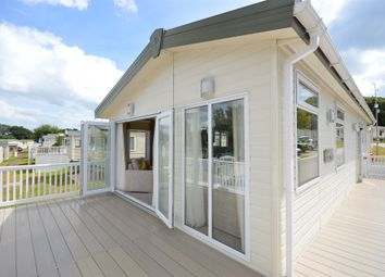 Thumbnail 2 bedroom mobile/park home for sale in Golden Sands, Warren Road, Dawlish