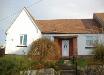 Thumbnail 3 bed semi-detached bungalow for sale in 24 Main Street, Auchencairn