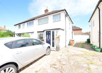 Thumbnail 3 bed semi-detached house for sale in Nursery Gardens, Staines Upon Thames, Surrey