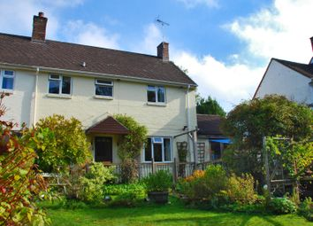 Thumbnail 4 bed semi-detached house to rent in Rockbourne, Fordingbridge, Hampshire