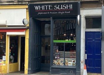 Thumbnail Restaurant/cafe for sale in Crighton Place, Edinburgh