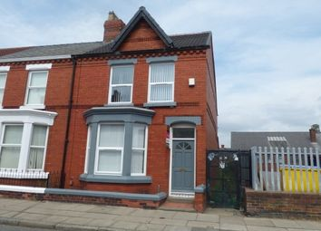 Thumbnail 5 bedroom end terrace house to rent in Molyneux Road, Kensington, Liverpool