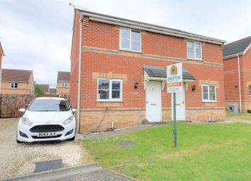 Thumbnail 2 bedroom semi-detached house for sale in Gloucester Court, Scunthorpe