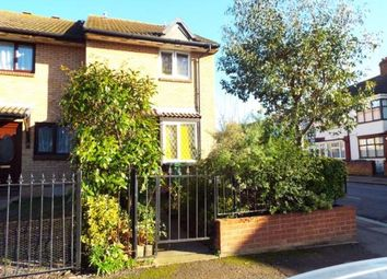 Thumbnail 1 bed end terrace house for sale in Meadows Close, Wiseman Road, London