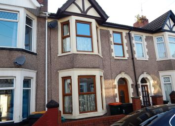 Thumbnail 3 bed terraced house to rent in Rosslyn Road, Newport