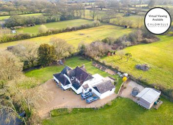 Crabbswood Lane, Sway, Lymington, Hampshire SO41. 4 bed detached house for sale