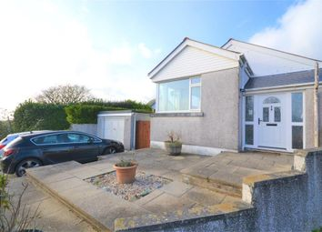 Thumbnail 3 bed semi-detached bungalow for sale in Morview Road, Widegates, Looe, Cornwall