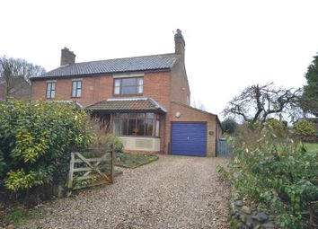 Thumbnail 3 bed semi-detached house for sale in Salhouse, Norwich