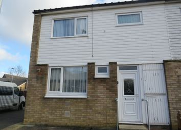 Thumbnail 3 bed end terrace house for sale in Ellindon, Bretton, Peterborough