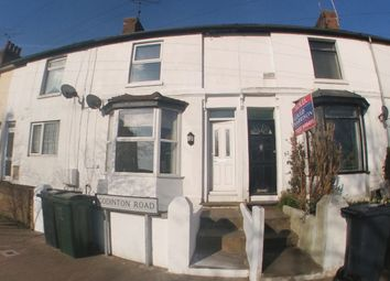 Thumbnail 2 bed terraced house to rent in Godinton Road, Ashford, Kent