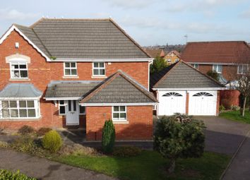 Thumbnail 4 bed detached house for sale in Sefton Road, Dosthill, Tamworth