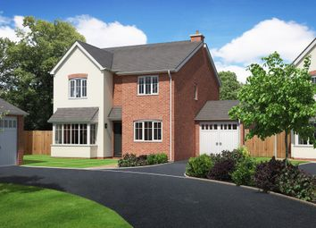 Thumbnail 4 bed detached house for sale in Crew Green, Shrewsbury