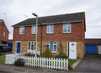Thumbnail 3 bedroom semi-detached house for sale in Simons Cross, Woodbridge