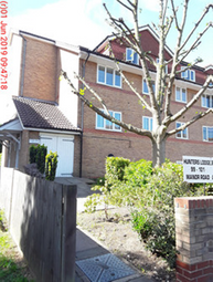Thumbnail 1 bed flat to rent in Hunters Lodge, Manor Road, Sidcup