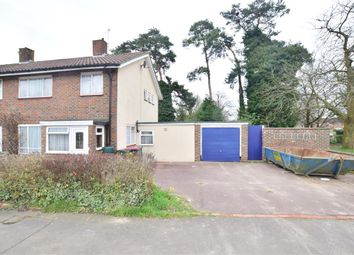 Thumbnail 3 bed semi-detached house for sale in Warren Drive, Ifield, Crawley, West Sussex
