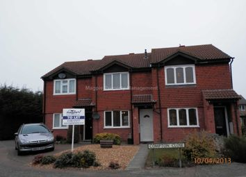 Thumbnail 2 bed terraced house to rent in Flint Way, Eynesbury, St. Neots