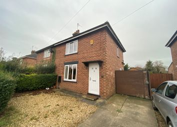 Thumbnail 2 bed semi-detached house for sale in Edward Road, Spalding