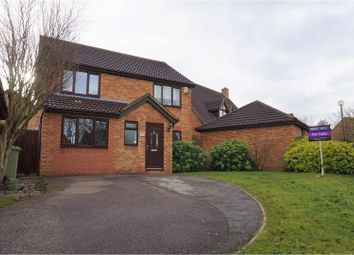 Thumbnail 4 bed detached house for sale in Minerva Gardens, Wavendon Gate