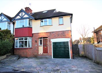 Thumbnail 4 bed semi-detached house for sale in The Greenway, Epsom