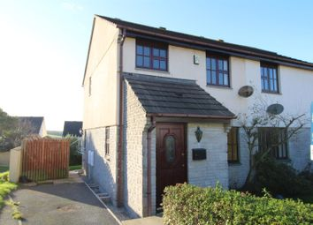 Thumbnail 3 bed semi-detached house for sale in Nanscober Place, Helston