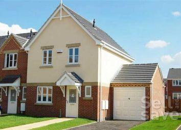 Thumbnail 3 bed town house for sale in Ashleigh Avenue, Sutton-In-Ashfield, Nottinghamshire