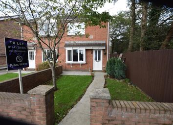 Thumbnail 2 bed semi-detached bungalow to rent in Larch Drive, Cross Inn, Pontyclun