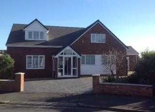 Thumbnail 6 bed detached house for sale in Meadows View, Marford, Wrexham