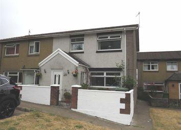 Thumbnail 3 bed semi-detached house for sale in Brynfab Road, Rhydyfelin, Pontypridd