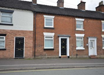 Thumbnail 2 bed terraced house to rent in Lotus Court, Oulton Road, Stone