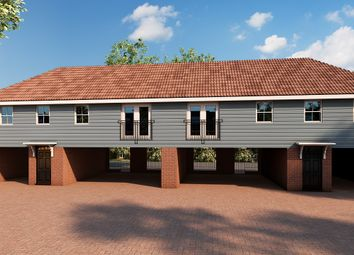 Thumbnail 2 bed flat for sale in Maltings Close, Flitch Green
