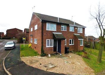 Thumbnail 1 bed semi-detached house to rent in Polden Close, Shepshed, Loughborough