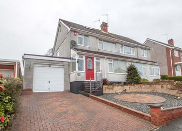 Thumbnail 3 bedroom semi-detached house for sale in Ashleigh Close, Tamerton Foliot, Plymouth