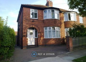 Thumbnail 3 bedroom semi-detached house to rent in Grantham Drive, York