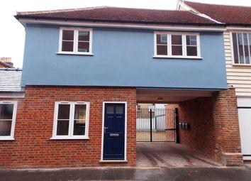 Thumbnail 1 bed flat to rent in Gold Street, Saffron Walden, Essex