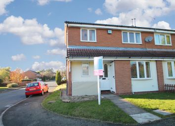 Thumbnail 2 bed semi-detached house to rent in Foxdale Drive, Brierley Hill, West Midlands
