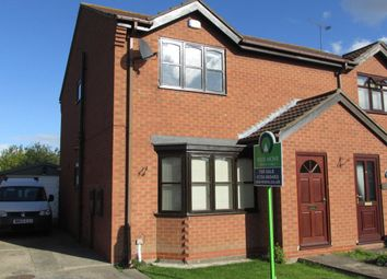 Thumbnail 2 bed semi-detached house for sale in Farm Close, Gunness, Scunthorpe