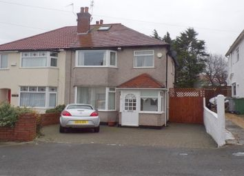 Thumbnail 3 bedroom property to rent in Penmon Drive, Heswall, Wirral