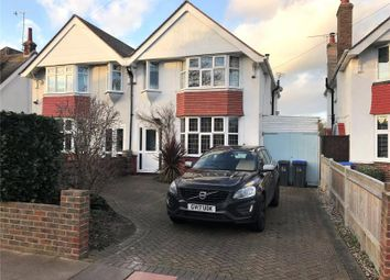 Thumbnail 3 bed semi-detached house for sale in Gerald Road, West Worthing, West Sussex