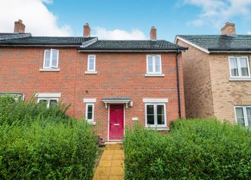 Thumbnail 3 bed end terrace house for sale in Quicksilver Way, Andover
