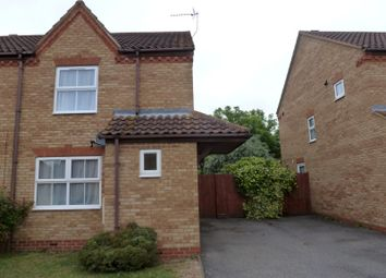 Thumbnail 2 bedroom semi-detached house to rent in Deighton Close, St. Ives, Huntingdon